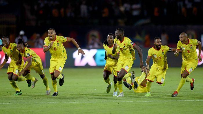 Ubwo Benin yakuragamo Maroc ibyishimo byari byose