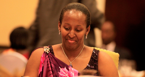 Photos of Jeannette Kagame