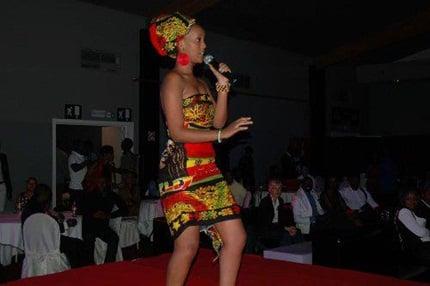 Knowles Rwanda Female Muscian