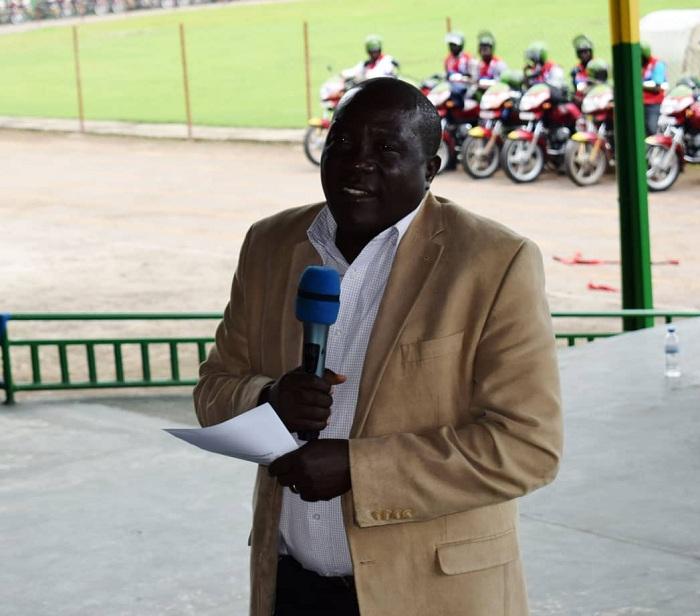 Guverineri Gatabazi JMV yasabye abamotari gukora kinyamwuga