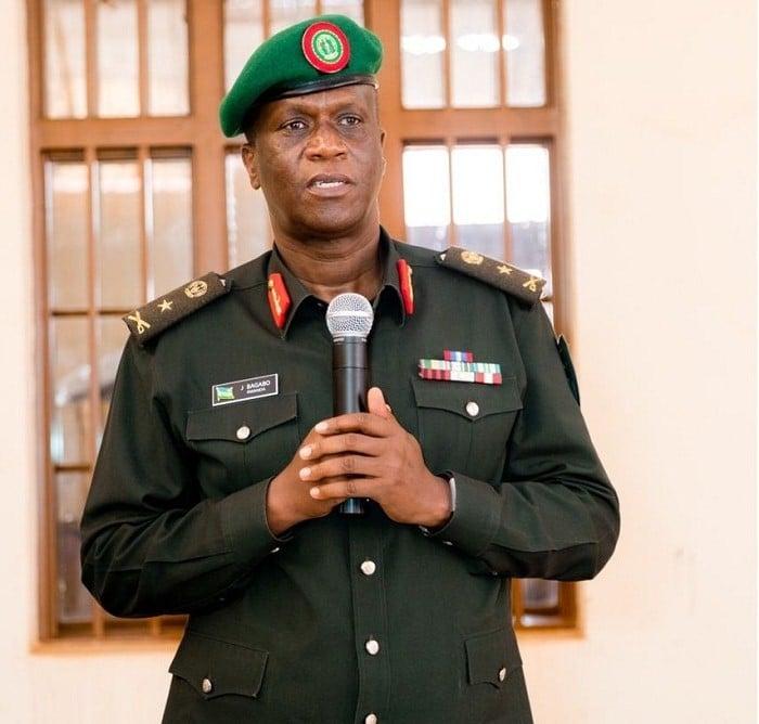 Brig. Gen Peter John Bagabo
