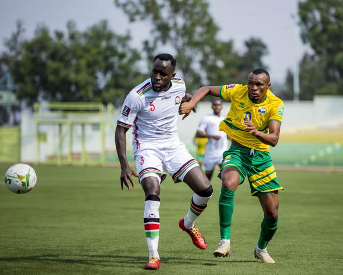 Amavubi na Kenya banganyije igitego 1-1