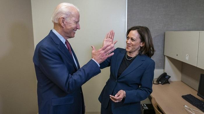 Joe Biden na Visi perezida we Kamala Harris