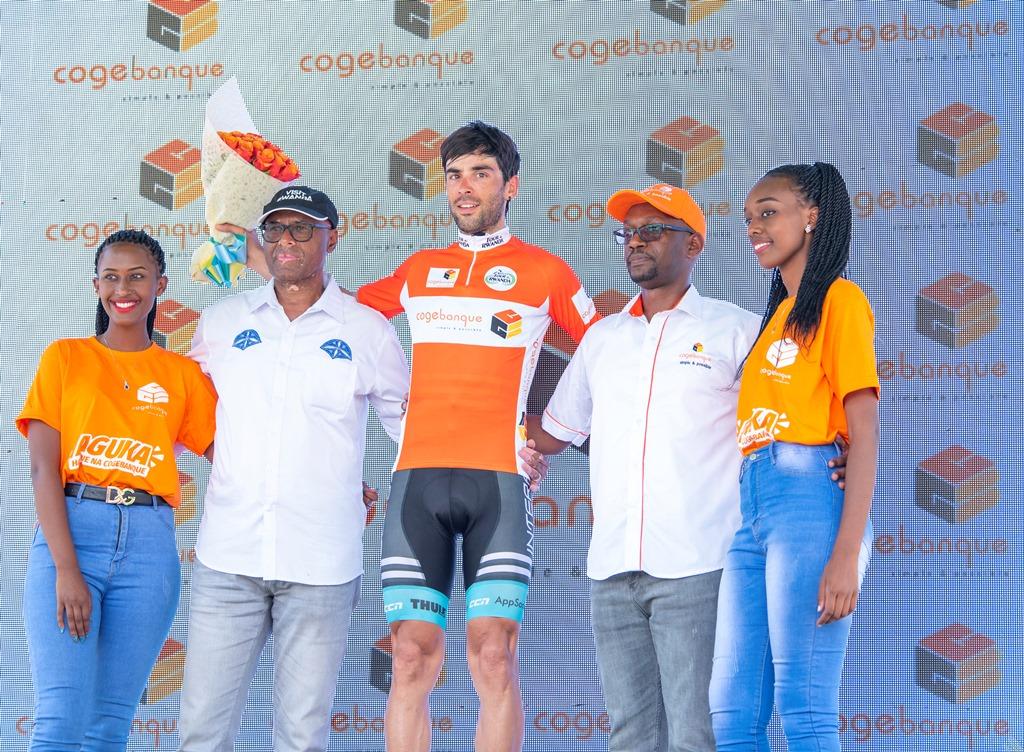 Pablo Torres Muiño wa Interpro Cycling Academy, yahembwe na Cogebanque nk'umukinnyi urusha abandi guterera imisozi