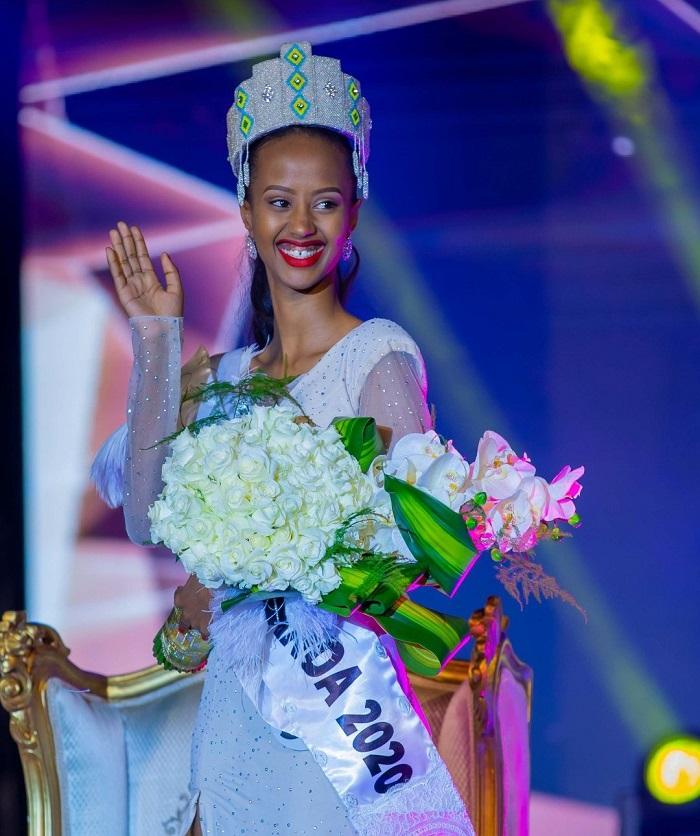 Nishimwe Naomie, Miss Rwanda 2020 (Photo:TNT)