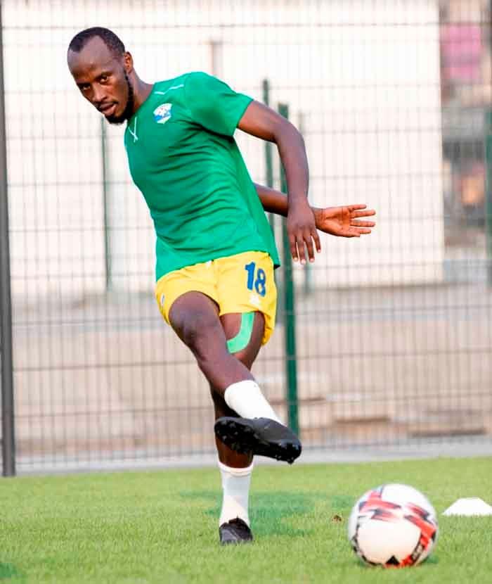 Nsabimana Eric Zidane azamara hanze ibyumweru bibiri adakinira Amavubi