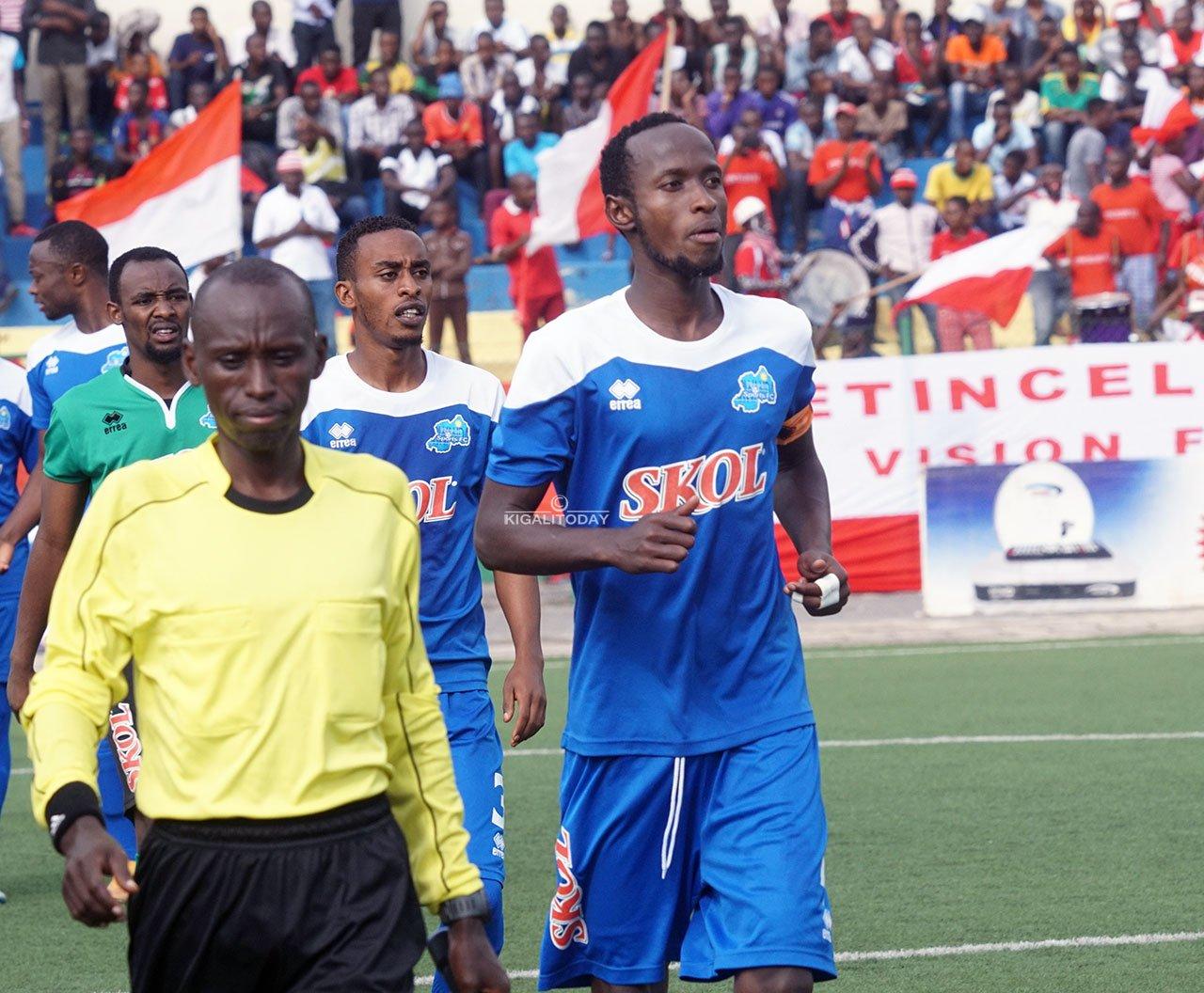 Manzi Thierry wari kapiteni wa Rayon Sports