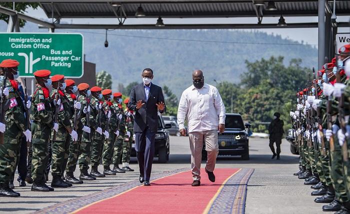 Perezida Kagame yakirwa na Tshisekedi i Goma