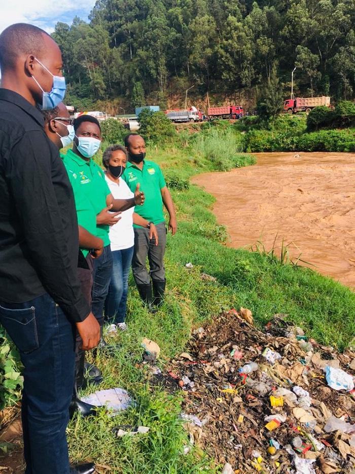 Ishyaka Green Party rivuga ko ryabonye imyanda myinshi muri Nyabugogo