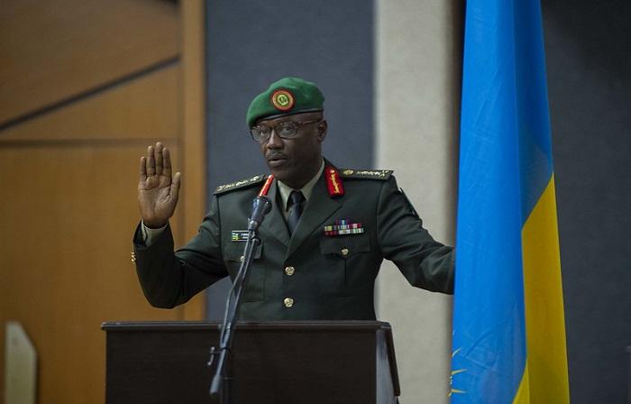 Gen. Fred Ibingira, umugaba mukuru w