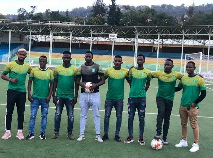 Bamwe mu bakinnyi bamaze kwinjira muri AS Kigali