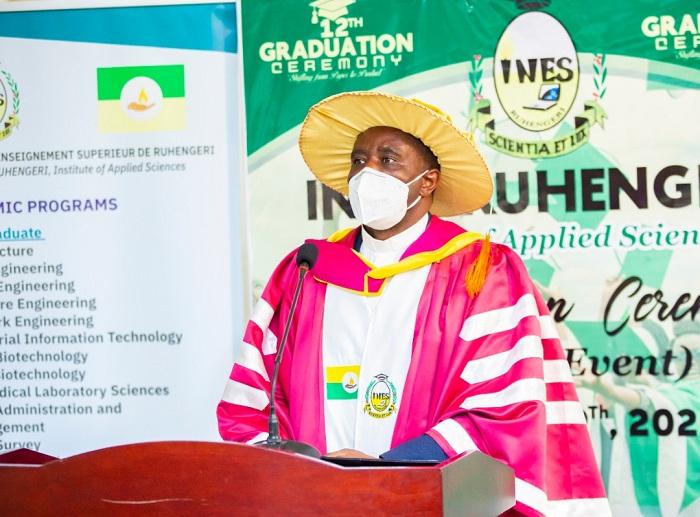 Umuyobozi Mukuru wa INES Ruhengeri, Padiri Dr Hagenimana Fabien