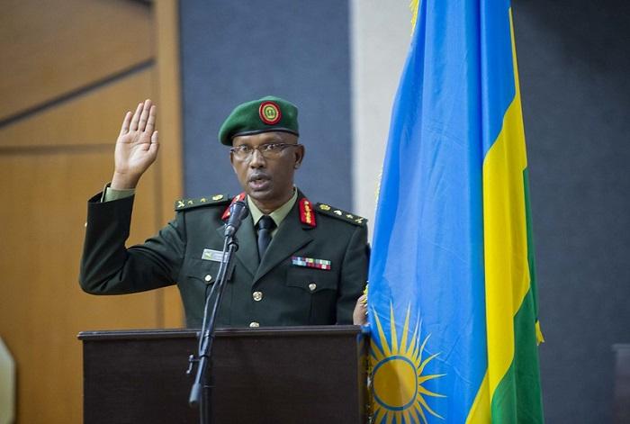 Maj. Gen. Innocent Kabandana,umugaba mukuru wungirije w