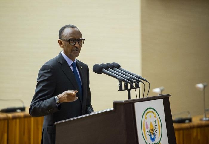 Perezida Kagame yaburiye abashaka guhungabanya umutekano w