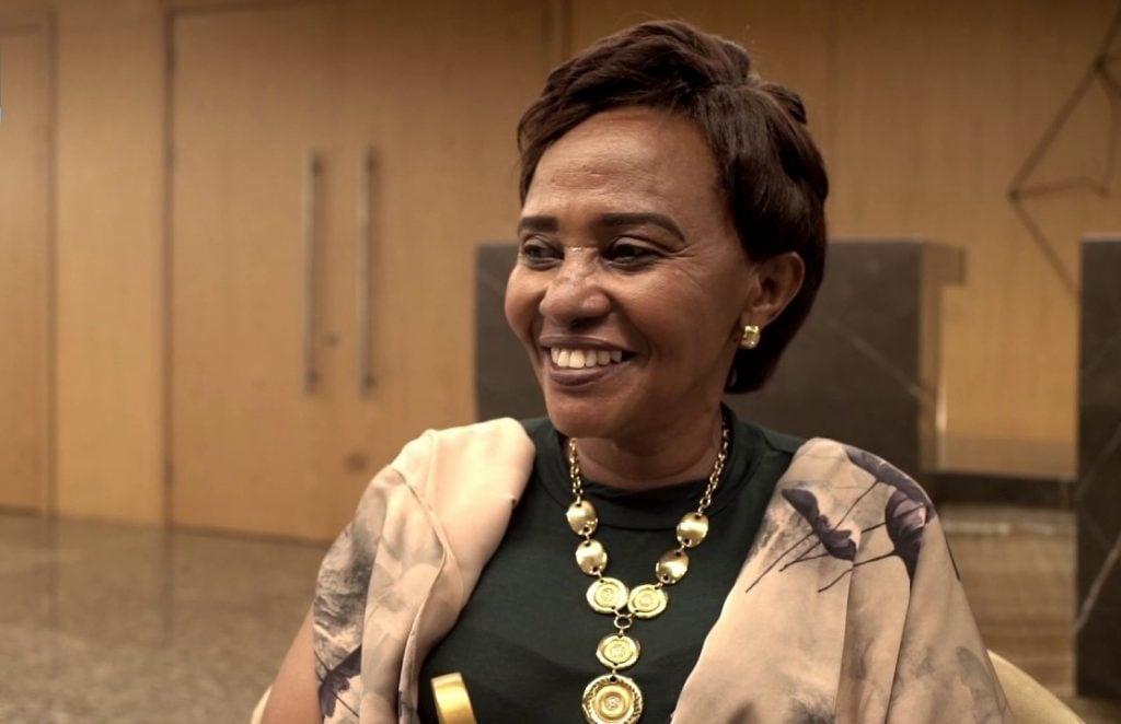 Mukakamanzi Beatha wamenyekanye cyane nka Mama Nick muri sinema nyarwanda