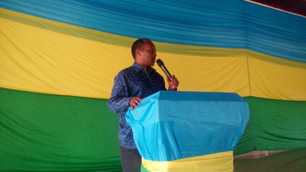 Minisitiri w'ubutegetsi bw'igihugu, Prof. Anastase Shyaka.