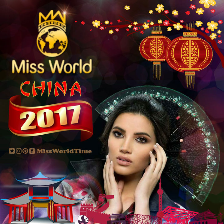 Miss World 2017 izabera mu Bushinwa