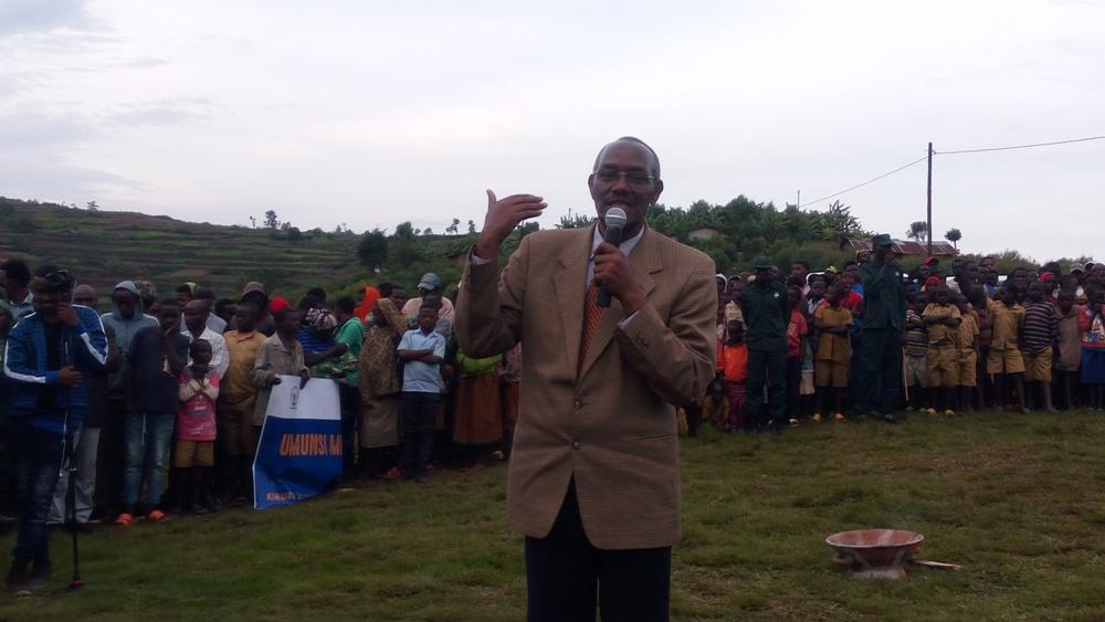 Modeste Nsanzabaganwa, umuyobozi w
