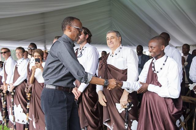 Niringiyimana ari mubatoranyije mu muhango wo kwita izina 2019
