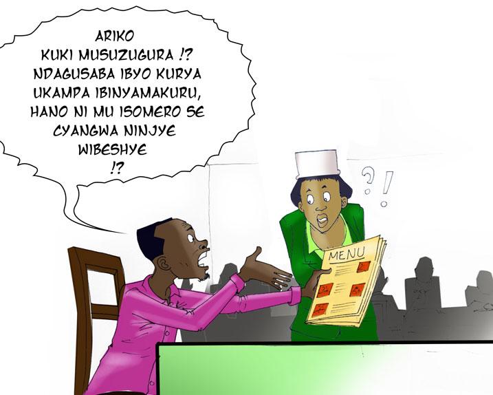 Kutamenya icyongereza bigiye guheza bamwe mu maresitora agezweho.