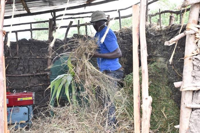 Umushinga wa RDDP ugamije guteza imbere ubworozi wafashije aborozi kubona imashini zisya ubwatsi bw