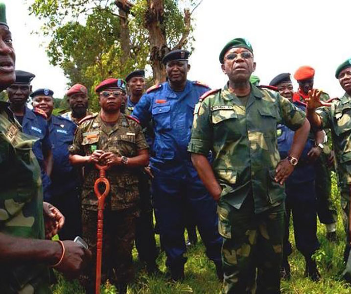 Umugaba w'Ingabo za RDC mu gutangiza ibikorwa byo kurwanya FDLR bwiswe SAKOLA 2.